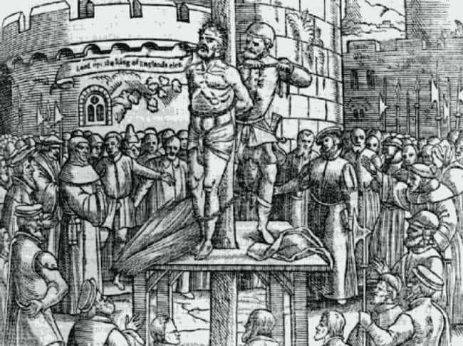 Burning William Tyndale For Ma is listed (or ranked) 6 on the list 15 Of The Most Absurd And Unforgivable Things The Catholic Church Has Ever Done