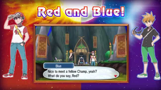 Red Representing 1996 Li... is listed (or ranked) 1 on the list 14 Easter Eggs You Probably Missed in Pokemon Sun and Moon
