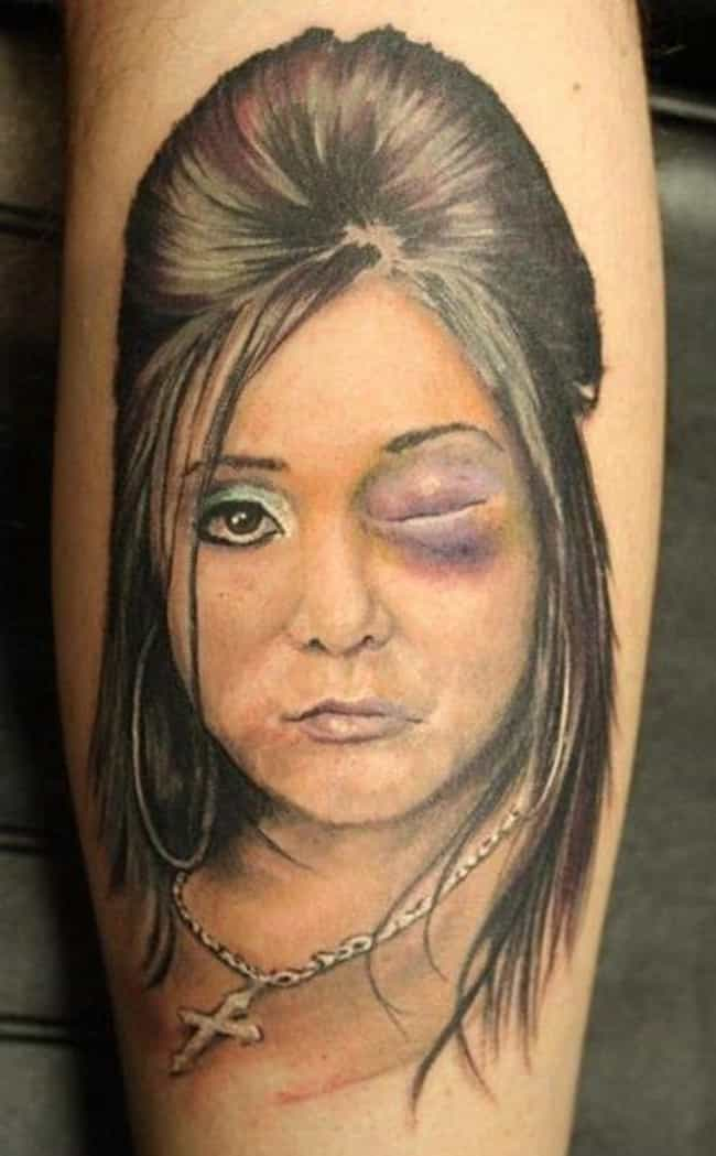 Oh, No, Just No is listed (or ranked) 4 on the list The Trashiest Tattoos Ever of All Time