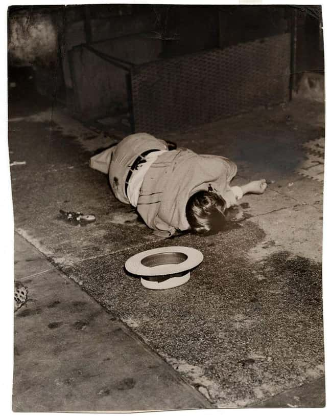 Gangster Dominick Didato on El is listed (or ranked) 6 on the list 12 Shocking and Gruesome Photos by Weegee, the Famous Crime Scene Photographer
