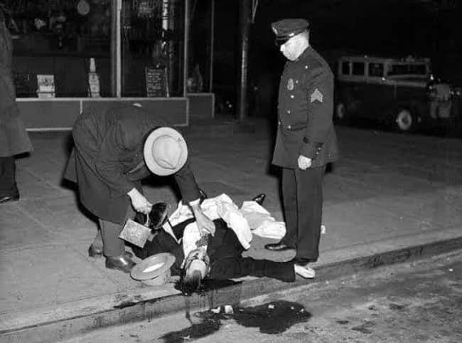 Carlo Tresca, Victim of a Mafi is listed (or ranked) 8 on the list 12 Shocking and Gruesome Photos by Weegee, the Famous Crime Scene Photographer