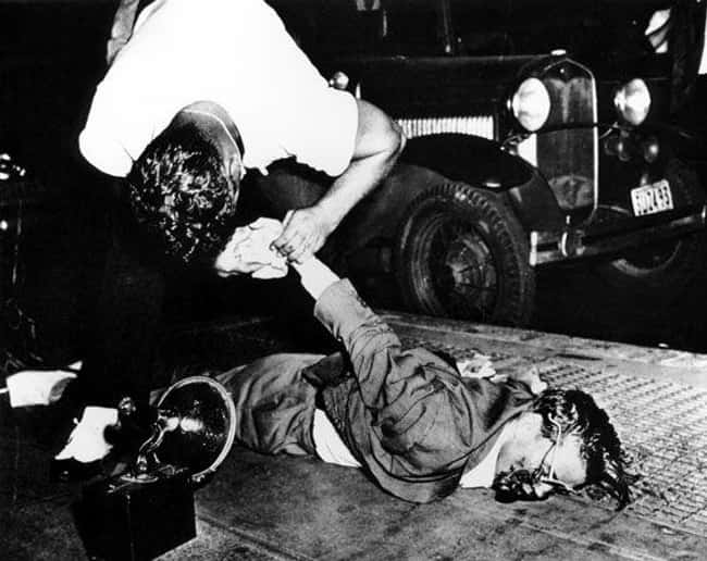 Corpse Examination on New York is listed (or ranked) 5 on the list 12 Shocking and Gruesome Photos by Weegee, the Famous Crime Scene Photographer