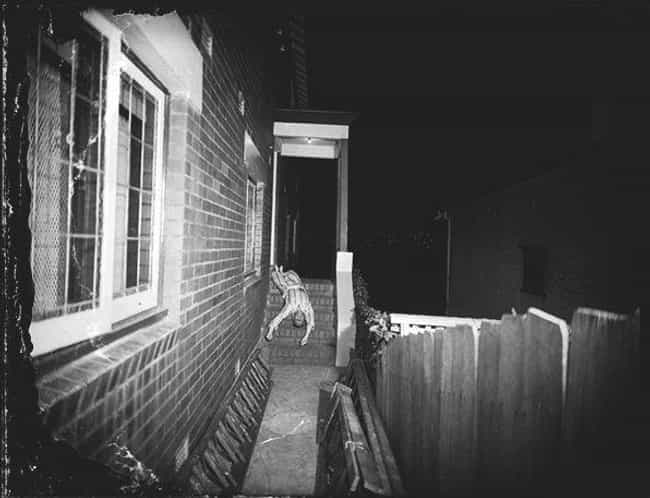 Man Found Dead on Porch in the... is listed (or ranked) 3 on the list 12 Shocking and Gruesome Photos by Weegee, the Famous Crime Scene Photographer