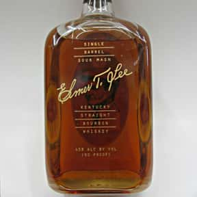Elmer T Lee is listed (or ranked) 20 on the list The Best Bourbon Brands