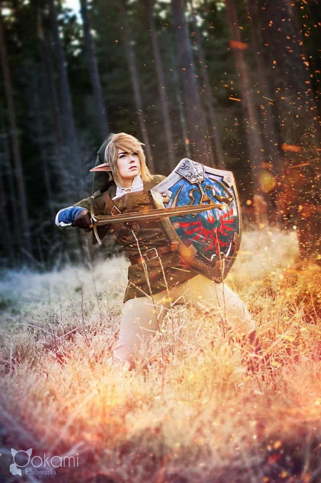Link - The Legend of Zelda: Tw... is listed (or ranked) 2 on the list 22 Sexy Ladies Rocking Crossplay That Will Confuse You (In a Good Way)