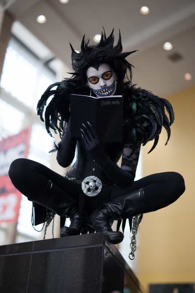 Ryuk - Death Note is listed (or ranked) 4 on the list 22 Sexy Ladies Rocking Crossplay That Will Confuse You (In a Good Way)