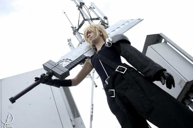 Cloud Strife - Final Fantasy V... is listed (or ranked) 6 on the list 22 Sexy Ladies Rocking Crossplay That Will Confuse You (In a Good Way)