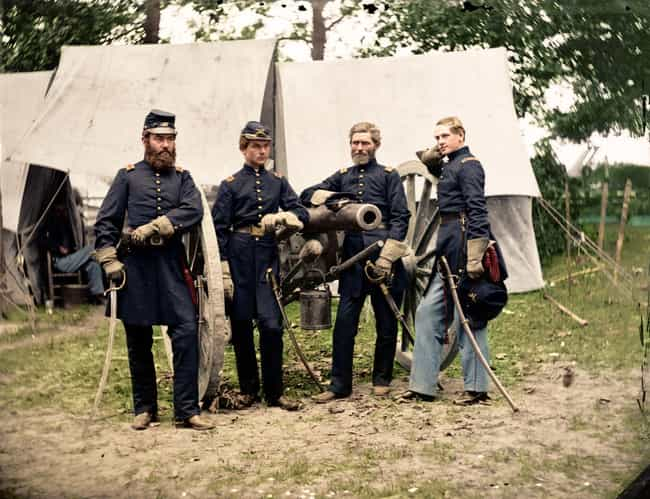 Artillery Officers, Fair... is listed (or ranked) 2 on the list 21 Colorized Photos So Vivid They'll Change How You See the Civil War