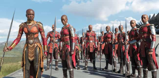 His Bodyguards Are Unstoppable... is listed (or ranked) 3 on the list 21 Things You Should Know About Marvel's Black Panther