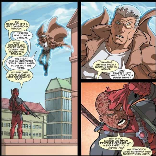 Was This Panel Written b... is listed (or ranked) 3 on the list 15 Deadpool Jokes That Were Way Better in Comics Than the Movies