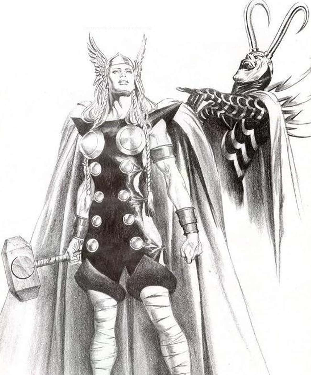 Female Thor is listed (or ranked) 1 on the list How A Single Miniseries Written Almost 20 Years Ago Predicted The Entire Future Of Marvel