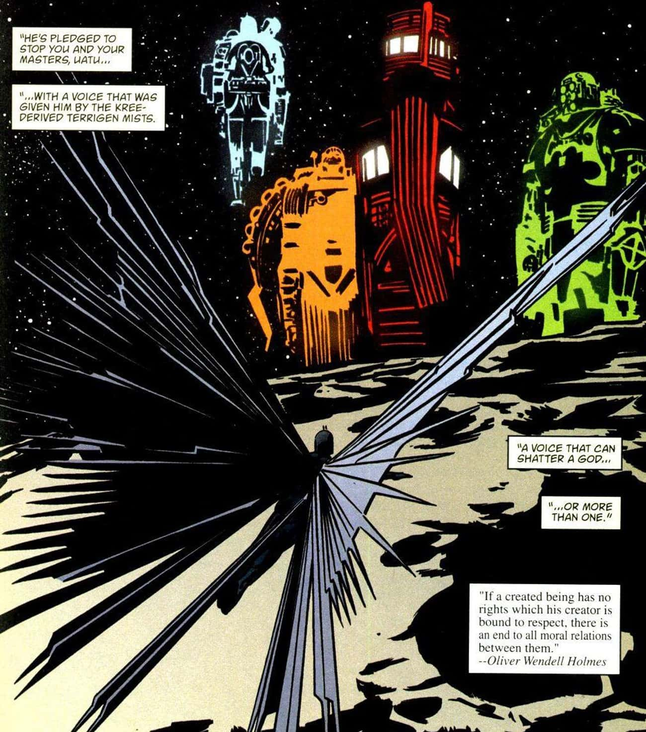 The Terrigen Mist Covers the E is listed (or ranked) 3 on the list How A Single Miniseries Written Almost 20 Years Ago Predicted The Entire Future Of Marvel