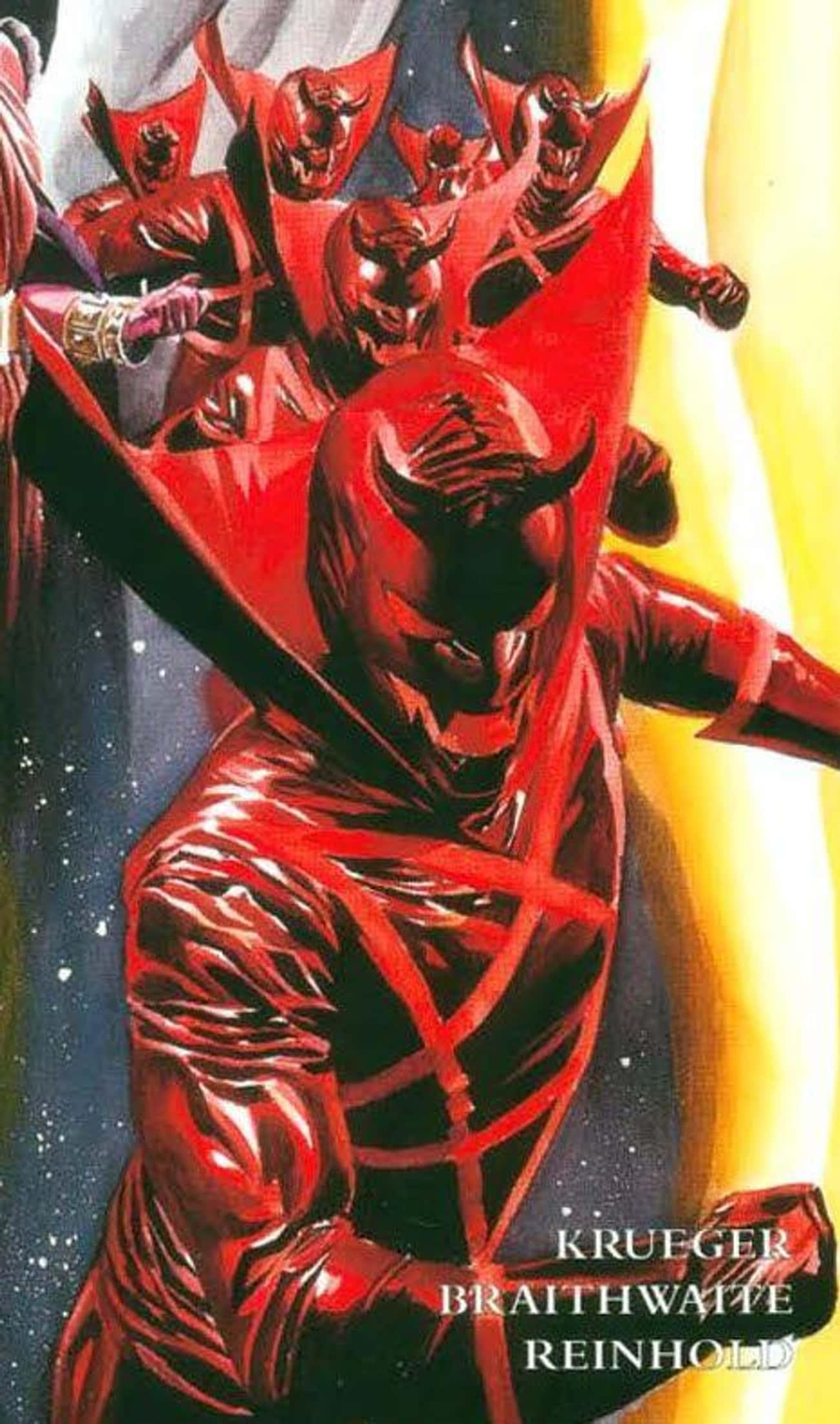 Deadpool's Fame is listed (or ranked) 4 on the list How A Single Miniseries Written Almost 20 Years Ago Predicted The Entire Future Of Marvel