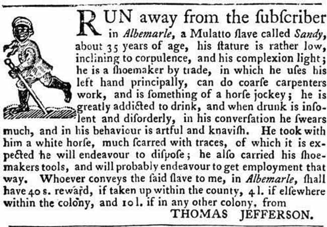 This Escaped Slave Belon... is listed (or ranked) 1 on the list 14 Shocking Escaped Slave Ads From the 19th-Century