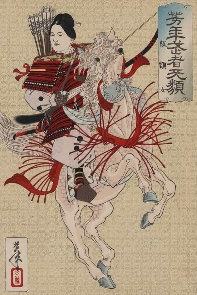 Tomoe Gozen, A Female Samurai,... is listed (or ranked) 2 on the list 10 Unbelievably Badass Stories Of Real Samurai From Ancient Japan