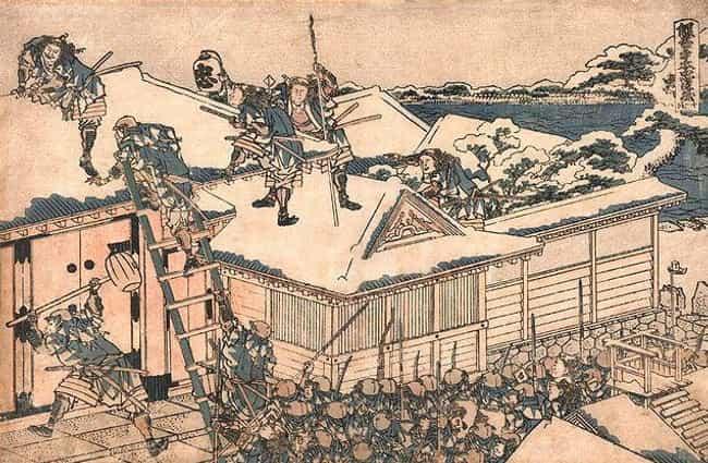 Ancient Japanese Samurai Drawings