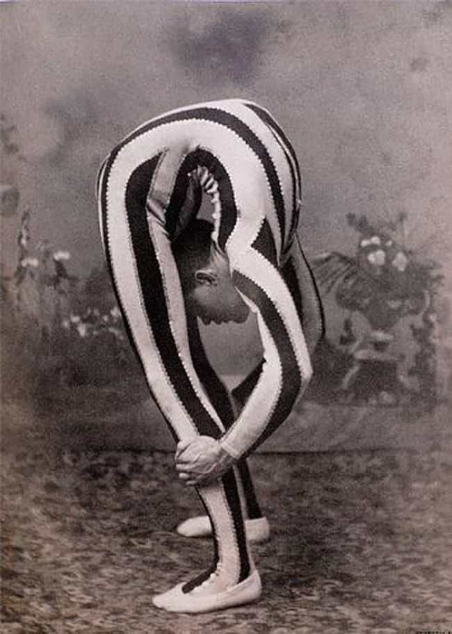 How Did They Ever Get Him to L... is listed (or ranked) 3 on the list 22 Insanely Creepy Vintage Circus Photos