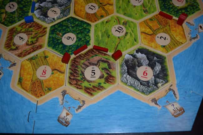 Diversify Your Portfolio... is listed (or ranked) 1 on the list 16 Tricks to Help You Defeat the More Experienced Catan Players in Your Life