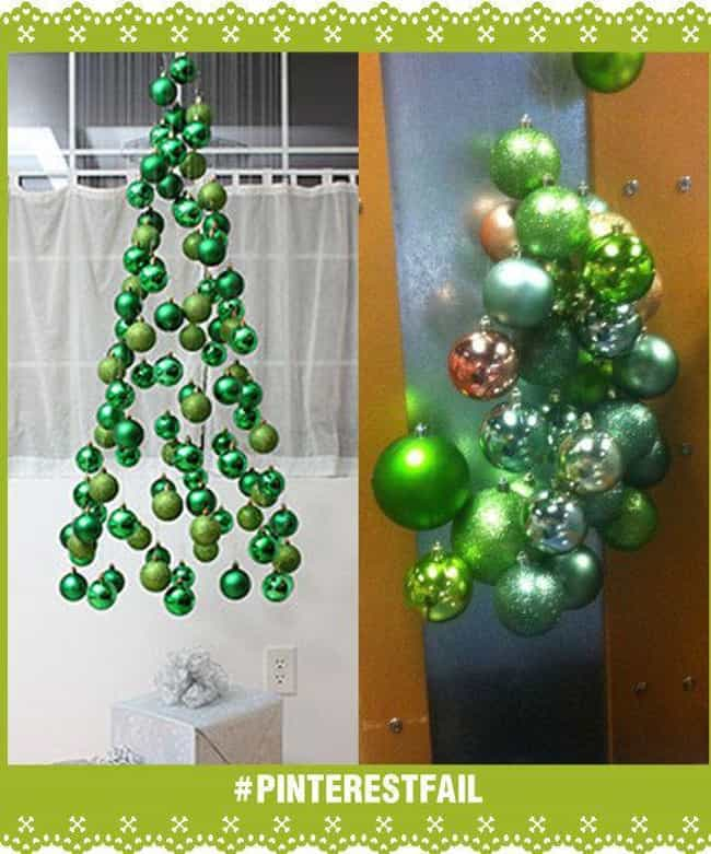 Mistle Doh! is listed (or ranked) 1 on the list 28 Christmas Pinterest Fails That Almost Ruined the Holidays