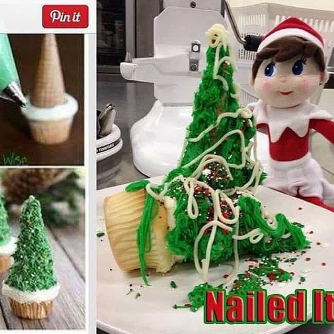 Barking up the Wrong Chr... is listed (or ranked) 3 on the list 28 Christmas Pinterest Fails That Almost Ruined the Holidays