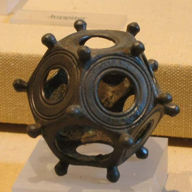 Roman Dodecahedra Might Just B is listed (or ranked) 9 on the list 10 Mysterious Ancient Inventions Science Still Can't Explain