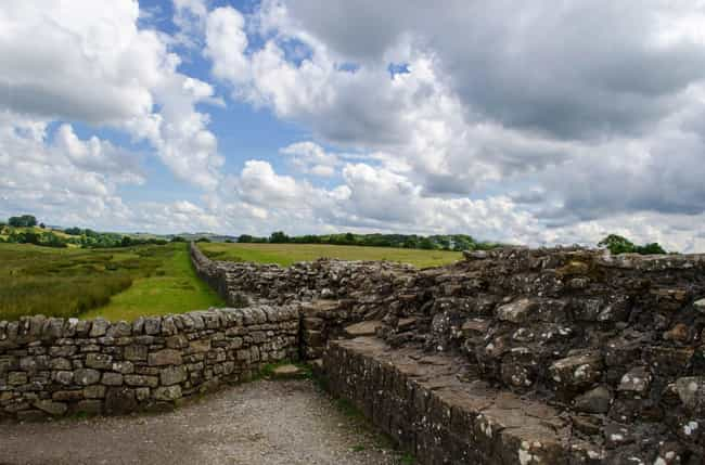 Hadrian's Wall In England ... is listed (or ranked) 4 on the list The 11 Most Significant Walls In World History