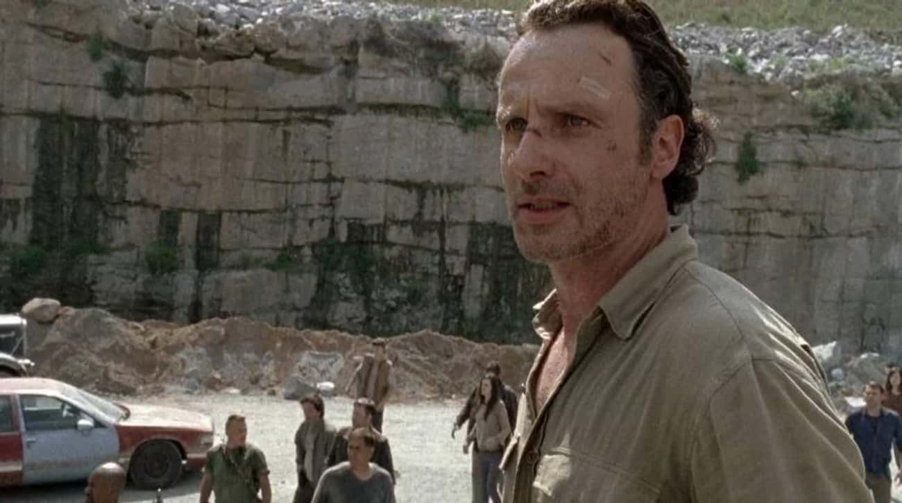 The Bad Decision Making Has to is listed (or ranked) 3 on the list 19 Ways to Drastically Improve The Walking Dead