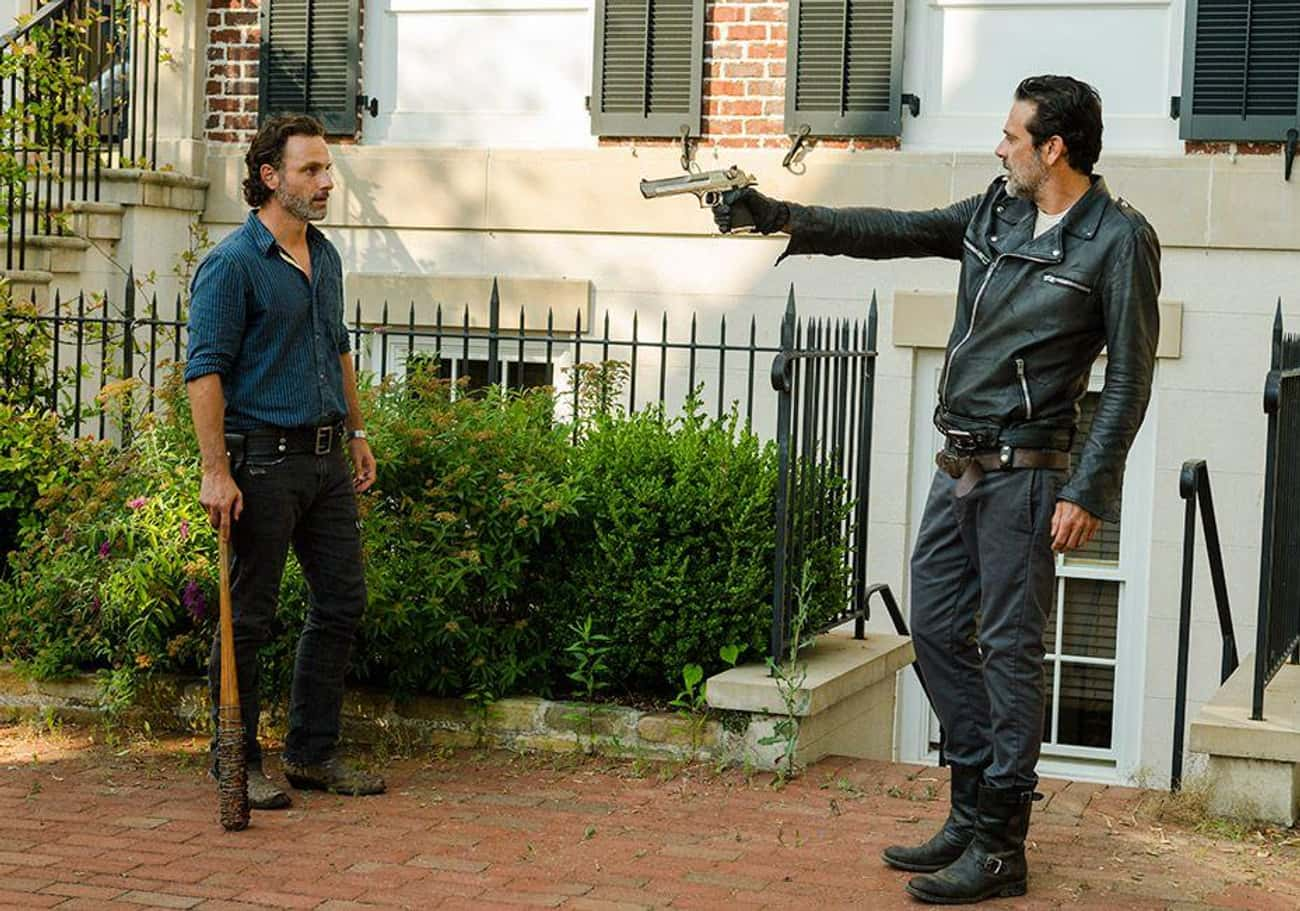 Make Rick a True Badass is listed (or ranked) 4 on the list 19 Ways to Drastically Improve The Walking Dead
