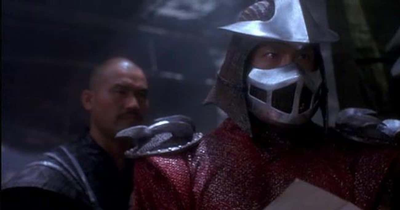 Shredder Was Based On A Cheese is listed (or ranked) 2 on the list 15 Things You (Somehow) Never Really Knew About The Ninja Turtles