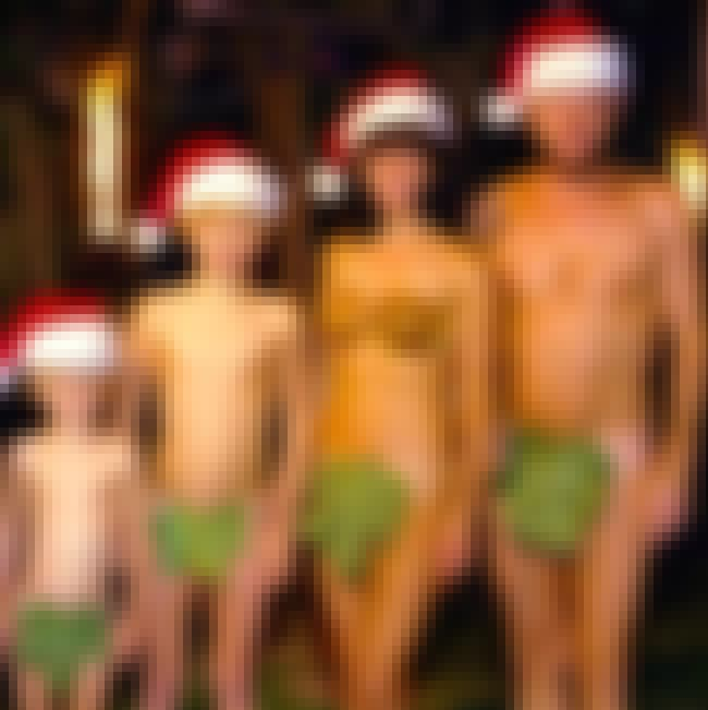 Leaf it to Beaver is listed (or ranked) 4 on the list The Dirtiest Christmas Family Photos Ever