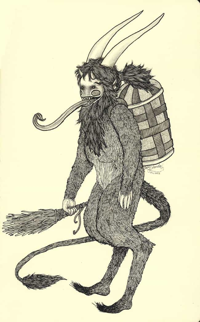 Krampusnacht is listed (or ranked) 1 on the list 9 Pagan Alternatives to Christmas