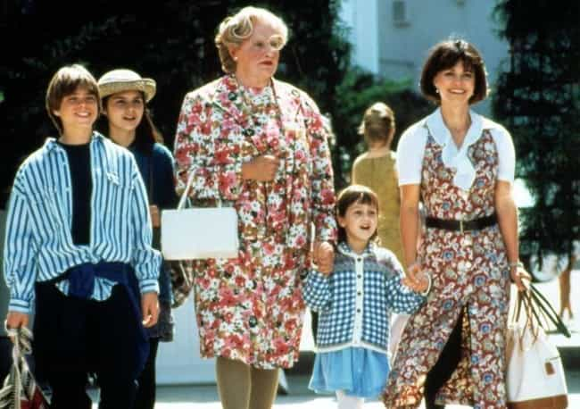 Sally Field Has No Idea ... is listed (or ranked) 3 on the list Mrs. Doubtfire Is Actually A Dark Film About An Extremely Deranged Man