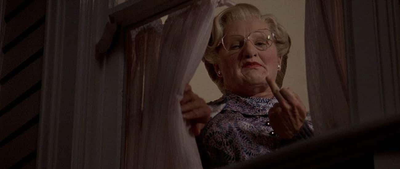 Everyone Is OK With Robin Will is listed (or ranked) 2 on the list Mrs. Doubtfire Is Actually A Dark Film About An Extremely Deranged Man