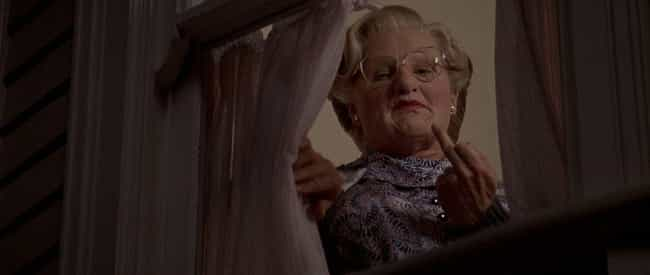 Everyone Is OK With Robi... is listed (or ranked) 2 on the list Mrs. Doubtfire Is Actually A Dark Film About An Extremely Deranged Man