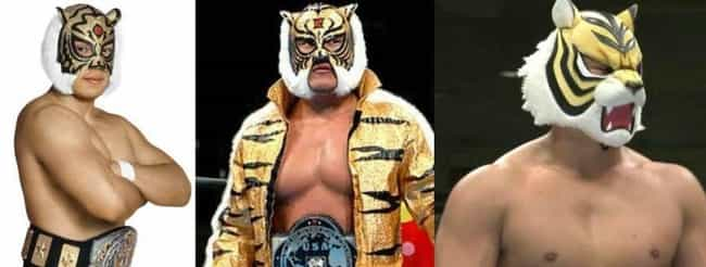 Tiger Mask is listed (or ranked) 1 on the list 11 Wrestling Gimmicks That Were Passed Down to Other Wrestlers