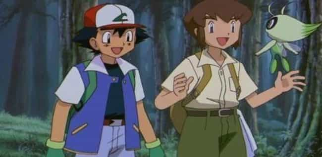 Celebi Messed with His T... is listed (or ranked) 2 on the list 10 Fan Theories That Explain Why Ash Ketchum Never Ages