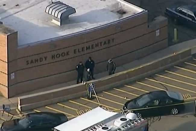 Sandy Hook Surveillance ... is listed (or ranked) 4 on the list 15 Horrifying Death Videos That Exist But You'll Never See