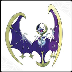 Lunala is listed (or ranked) 5 on the list The Best Ghost Pokemon of All Time