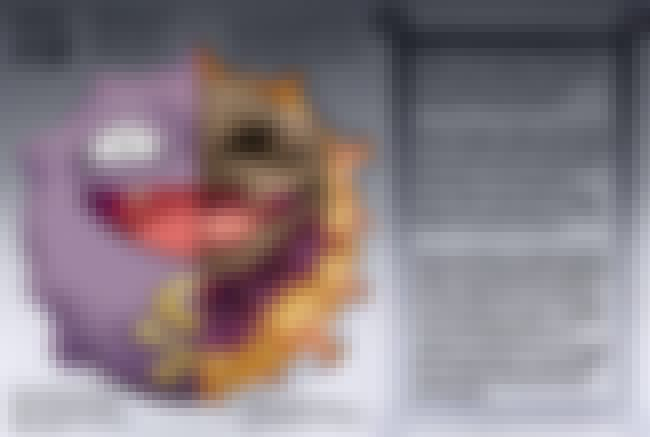 Koffing is listed (or ranked) 1 on the list 25 Pieces of Hyper-Detailed Pokemon Anatomy Fan Art