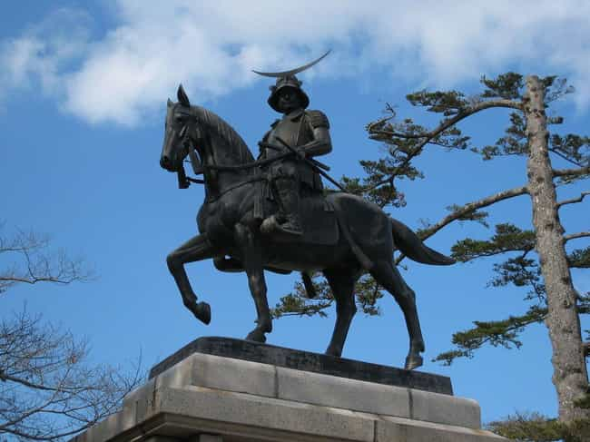 Date Masamune, The Ruthless On... is listed (or ranked) 4 on the list 10 Unbelievably Badass Stories Of Real Samurai From Ancient Japan