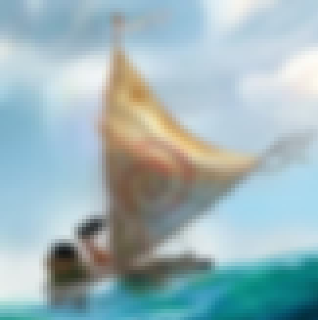 A Whole Ocean of Bad is listed (or ranked) 4 on the list Moana Movie Quotes