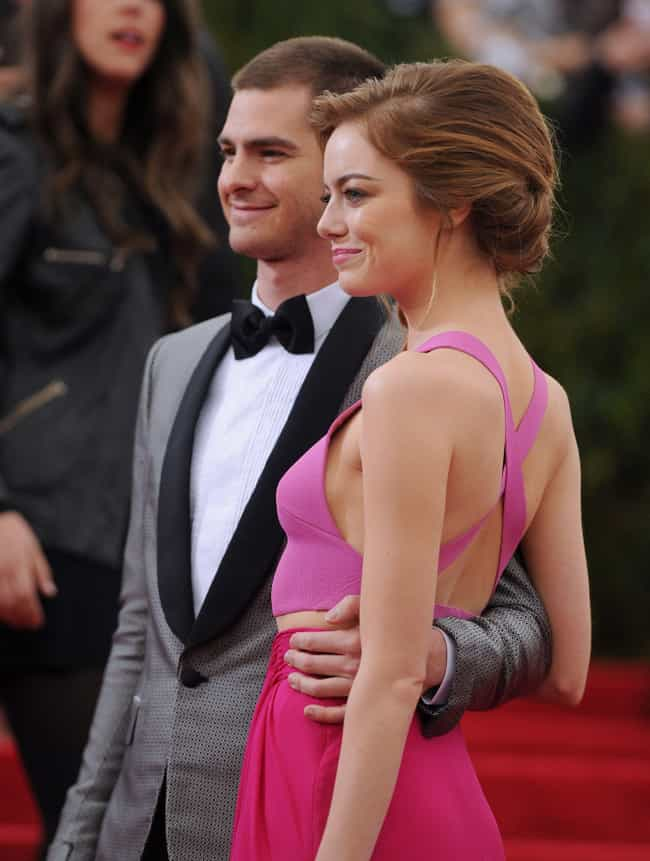 She Approves Of Andrew Garfiel... is listed (or ranked) 3 on the list TMI Facts About Emma Stone's Sex Life