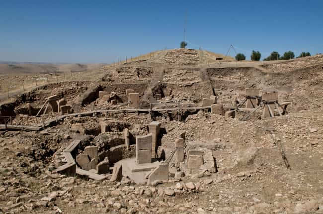 The Gobekli Tepe Might Be The  is listed (or ranked) 12 on the list 15 Bizarre Archaeological Finds That Rewrote History As We Know It