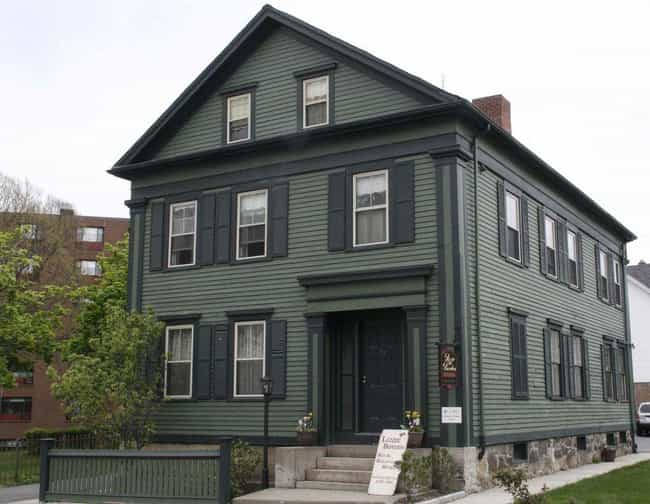 The Lizzie Borden Home Was The... is listed (or ranked) 3 on the list 11 Intense Crimes And Stories Fueling Famous Hauntings