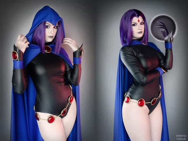 Raven is listed (or ranked) 2 on the list 25 Spot-On Cosplays of American Cartoon Characters