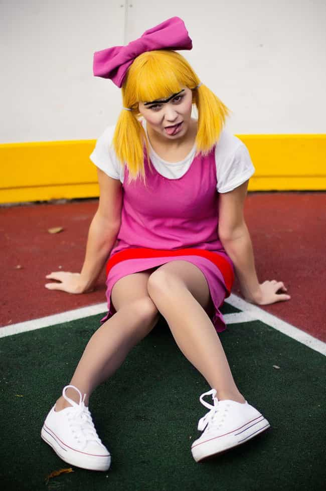 Adventure Time cosplay: Flame Princess by Kak-Tam-Ee on