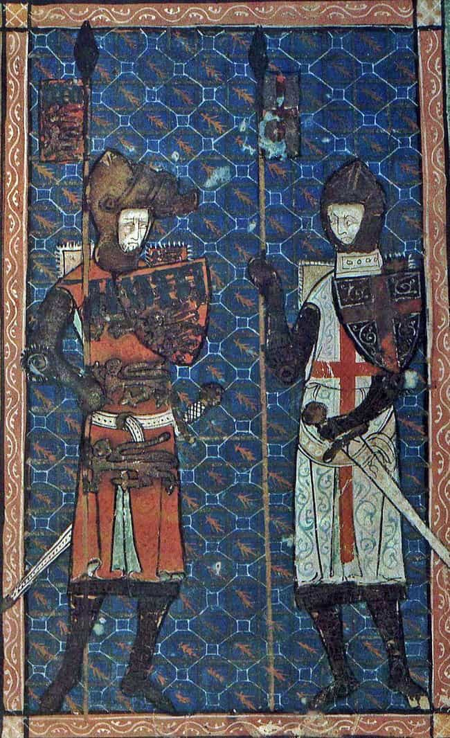 The Cross of the Knights Templ... is listed (or ranked) 3 on the list 10 Illuminating Facts About the Knights Templar