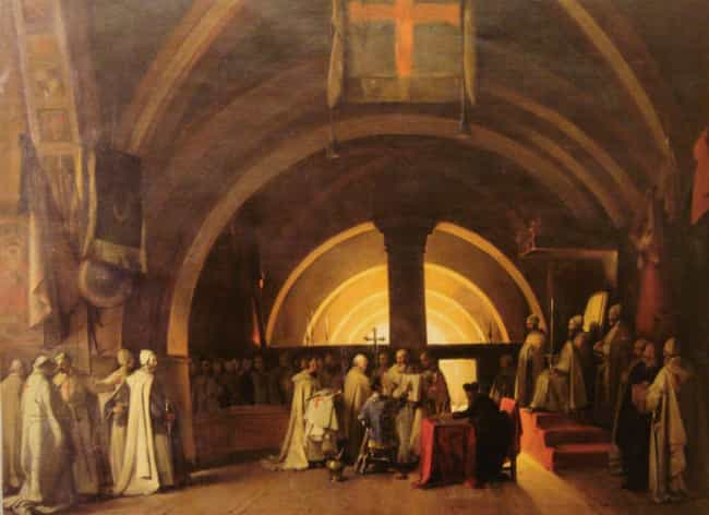 The Knights Templar Were Respe... is listed (or ranked) 1 on the list 10 Illuminating Facts About the Knights Templar