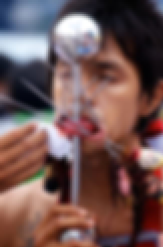"""Human Pincushions is listed (or ranked) 1 on the list Bloody Details From Thailand's Sacred """"Self-Mutilation"""" Festival"""