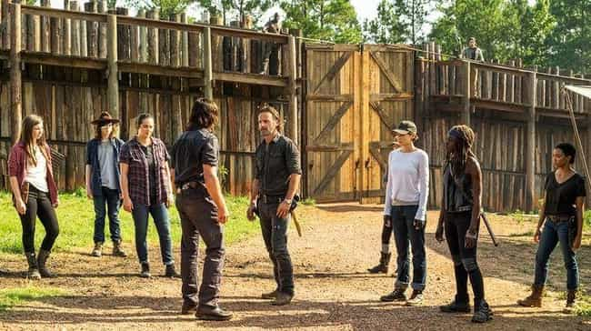 Finally, the Band's Back T... is listed (or ranked) 2 on the list 23 WTF Moments from the Walking Dead Midseason Finale